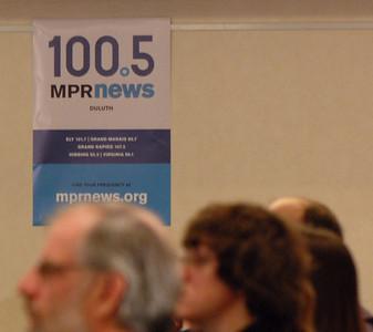 2011 04 05:  MPR-Northland News Ctr, Arrowhead Economy @ Radisson, Duluth, MN, US