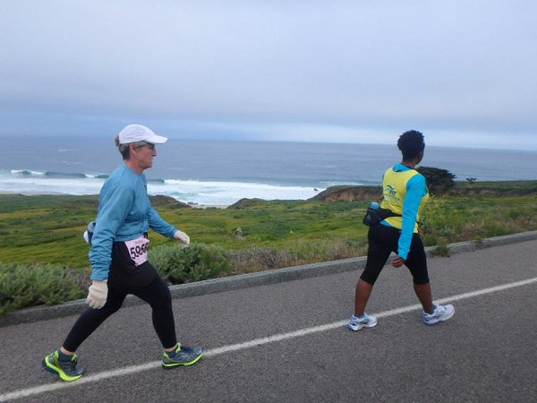 BIG SUR MARATHON ALBUM 3! RACE DAY 21 MILER! )