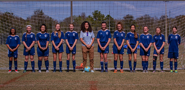 2018-19 West Florida Flames U15 Girls Travel Recreational Soccer