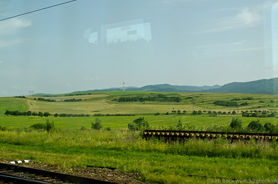 Slovakia from the Train - Tatras
