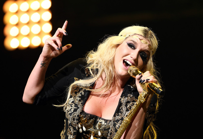 . Singer Kesha performs onstage during KIIS FM\'s 2012 Jingle Ball at Nokia Theatre L.A. Live on December 3, 2012 in Los Angeles, California.  (Photo by Christopher Polk/Getty Images for Clear Channel)