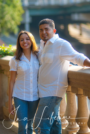 Alma and Alek engagement session