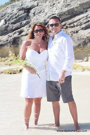 Craig & Leslie | Destination Wedding | Boysie Cay | Exuma Cays, Bahamas
