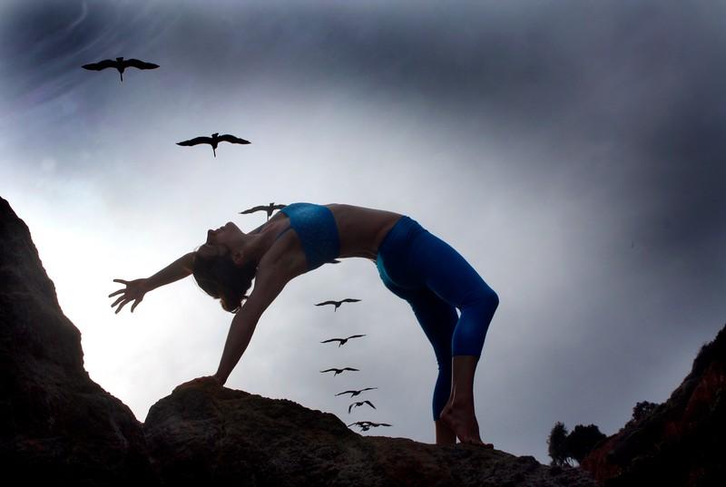 Soaring Pelicans ~ Matador Beach. Malibu, California