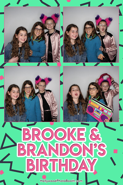 Brooke and Brandon's 11th Birthday