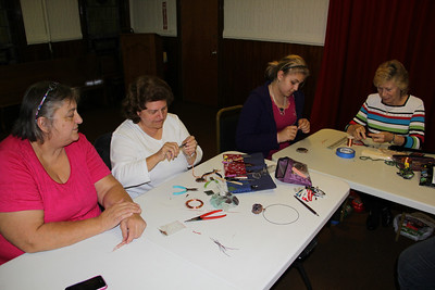 Jewelry Making Class, Community Arts Center, Tamaqua (9-28-2012)
