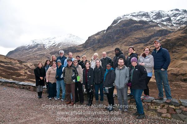 Glencoe, Loch Lomond, Glasgow Day 9