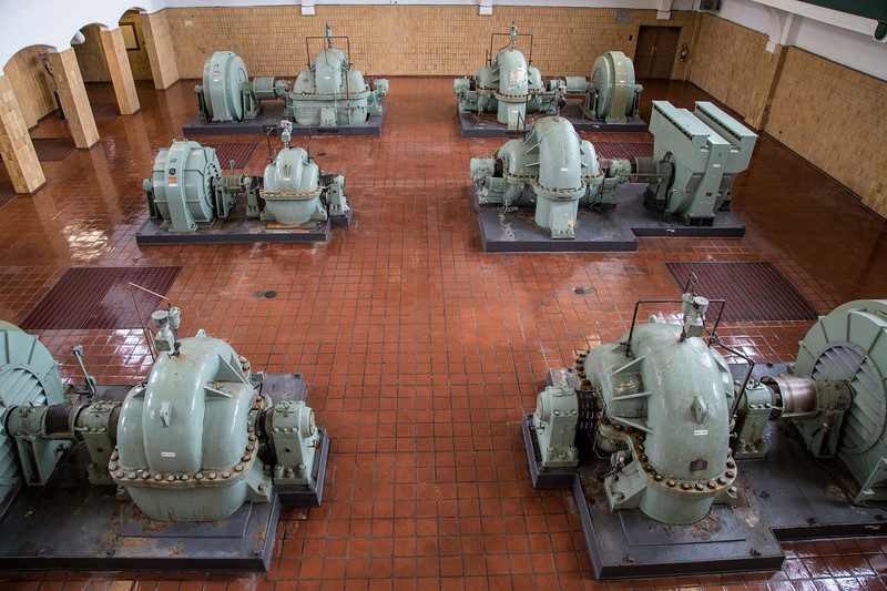 High-Lift Room, Pumping Station