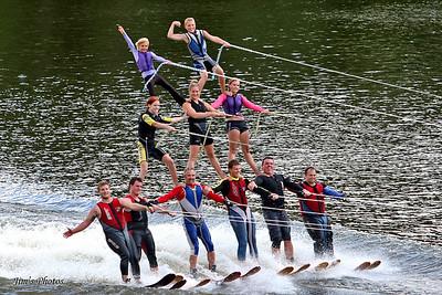 Mad-City Ski Team - Sept 11, 2010 Wis Water Ski Show Ski Open