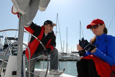 May 2007 - Sailing on the San Francisco Bay