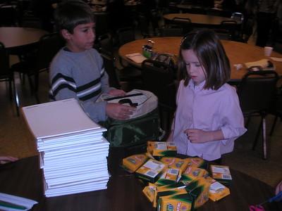 Community Life - IOCC Knapsacks - September 28, 2003