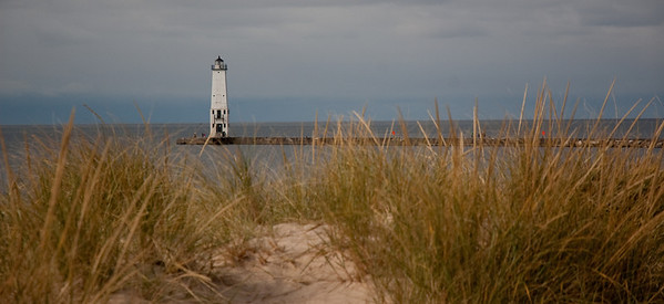 Frankfort North Breakwater Lighthouse