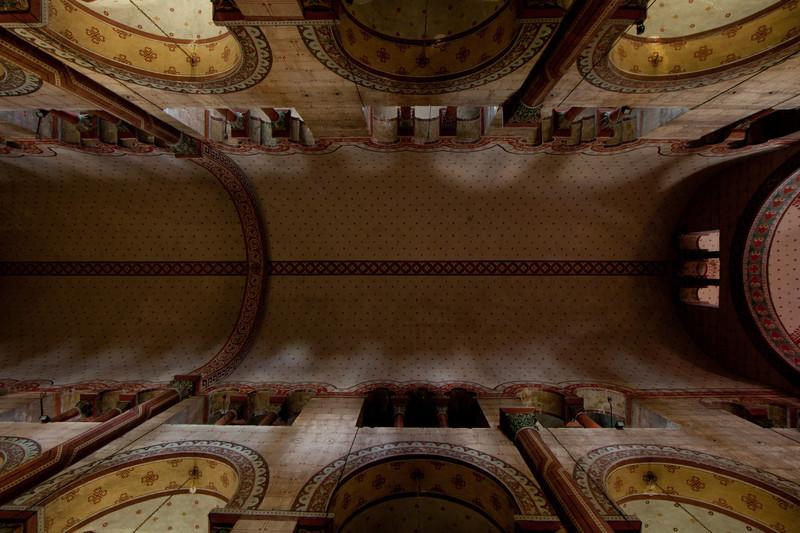 Issoire. Saint-Austremoine Abbey Nave Vault