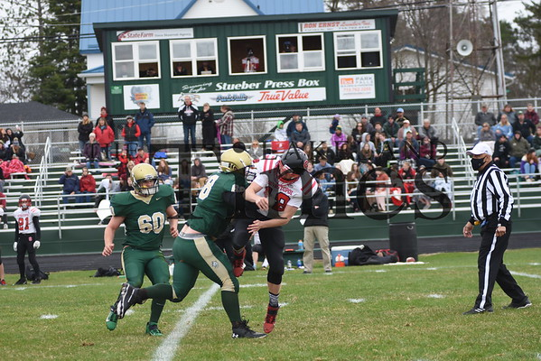 Chequamegon/Mercer Football vs. Sevastopol April 10, 2021