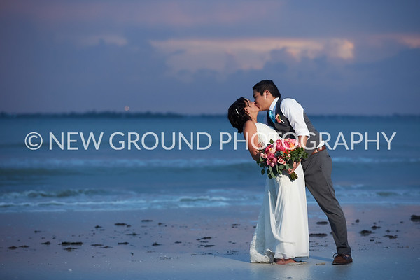 Shannon + Mike | Pink Shell