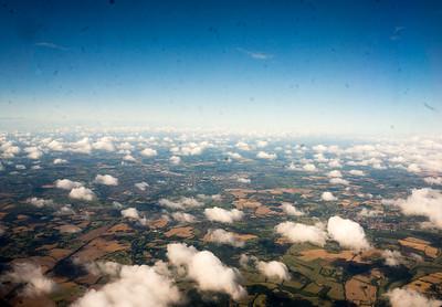 Approaching Edinburgh