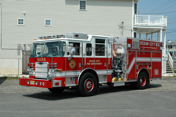 Cape May County Fire Apparatus