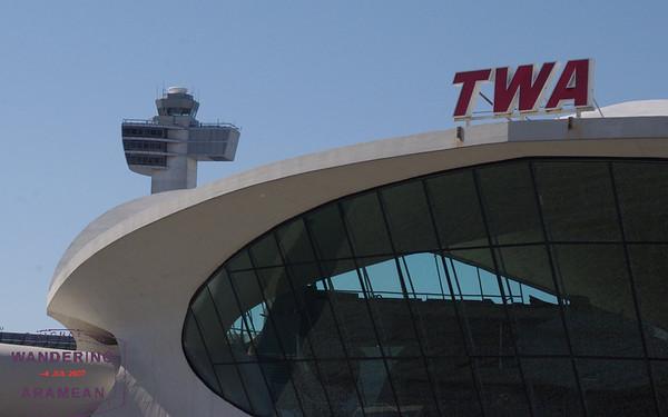 Inside the TWA Flight Center at JFK