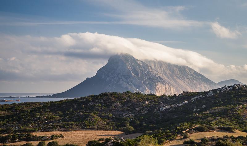Tavolara rock from Nibareddu accommodation