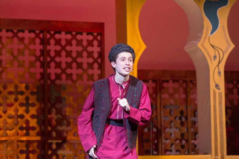 "The Wazir (""Was I Wazir"") -- Kismet, Montgomery Blair High School spring musical, April 15, 2016 performance (Silver Spring, MD)"