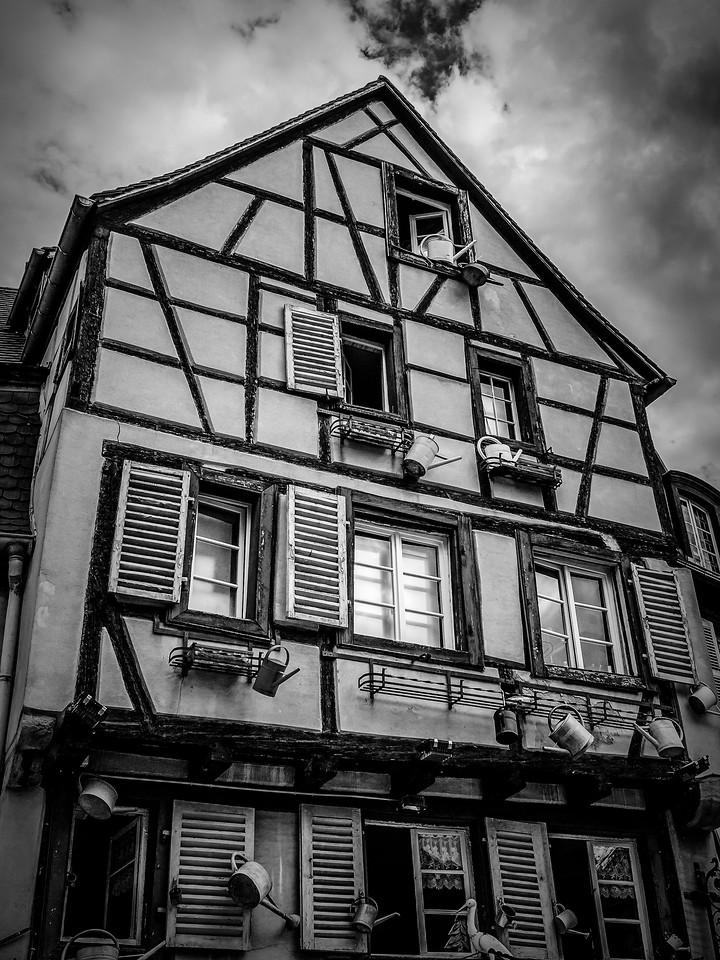 法国科尔马(Colmar),老城老房