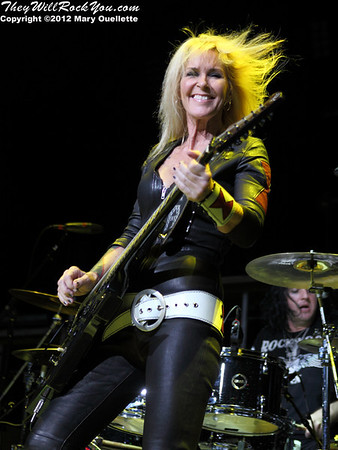 Lita Ford <br> August 18, 2012 <br> Comcast Center - Mansfield, MA <br> Photos by: Mary Ouellette