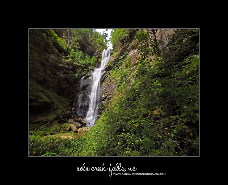 Sols Creek Falls
