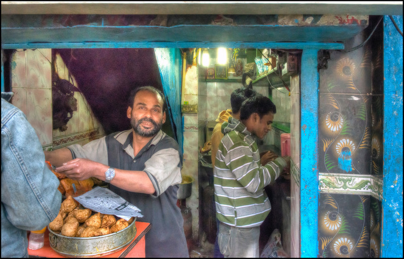 Tiny Restaurant in Gangtok, Sikkim, India.