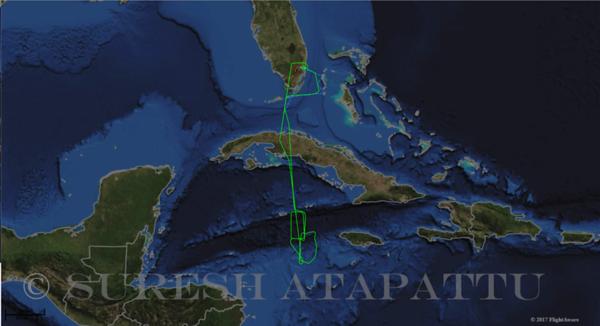 817 Flight on July 15th 2017