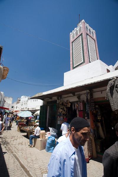 Urban scene in the medina, Tetouan, Morocco