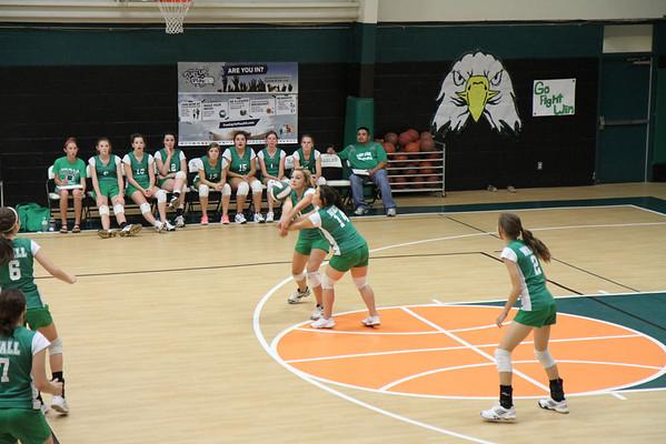 2013-Oct JV White Volleyball