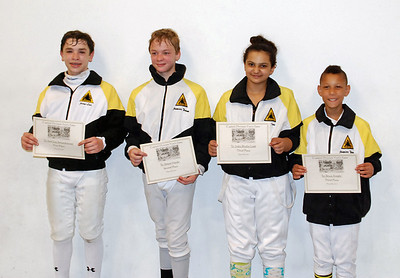 Youth-12 & Under Mixed Epee