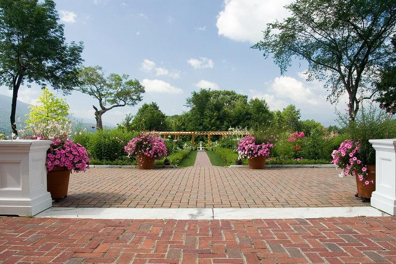 Garden Entrance at Hildene