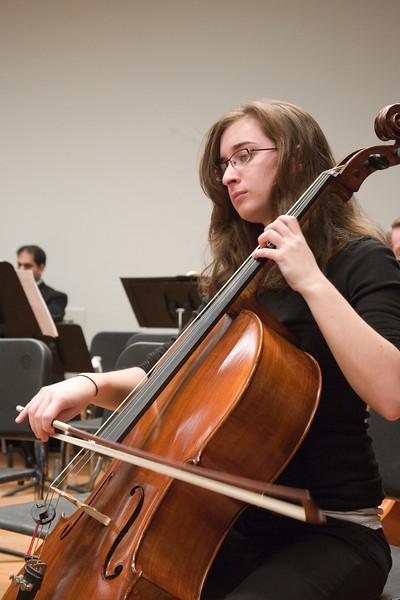 Rachel Kloss, cello -- Hopkins Symphony Orchestra, March 2008