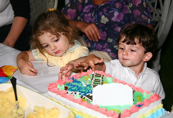 Celebrating Vincent, 2th Birthday - September, 2009