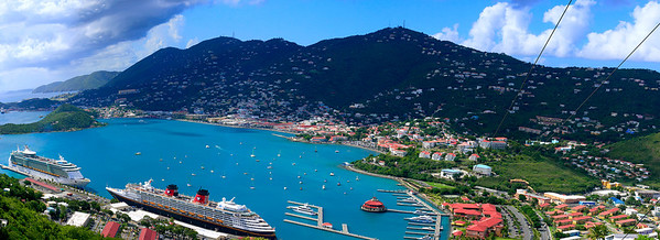 St Thomas Panorama (12 shots), October 28, 2009