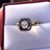 .53ctw Rose Cut Halo Ring, by Single Stone 17