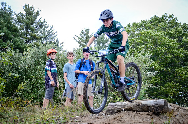 Varsity and JV Mountain Biking Race at Home