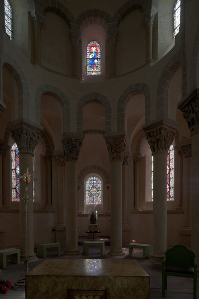 Saint-Nectaire Abbey Choir