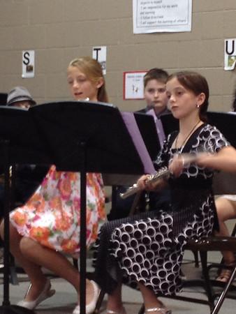 Kailin's Choir concert