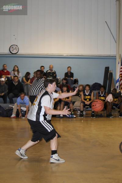 Block Basketball Game vs Logos 11-19-2013