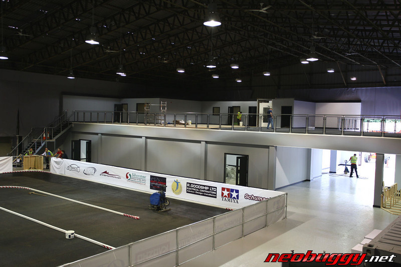 Mezzanine level as seen from drivers stand