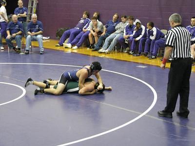 2008-2009 Varsity Wrestling vs. Sycamore