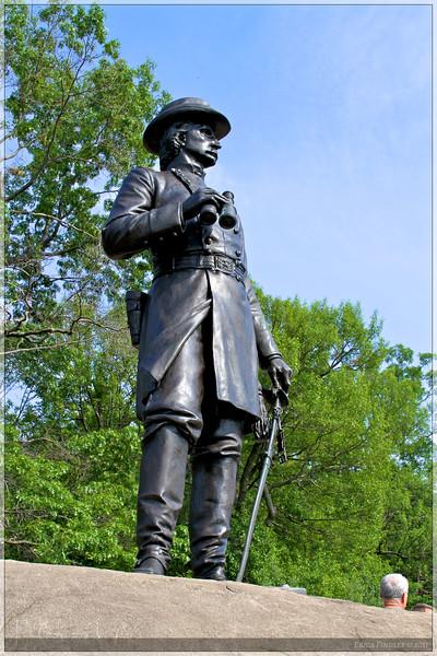 General Warren on Little Round top.
