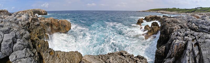 Cala Tramontana - San Domino Island, Tremiti, Foggia, Italy - August 19, 2013