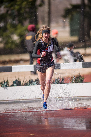 Women's Steeplechase - 2014 MSU Spartan Invite