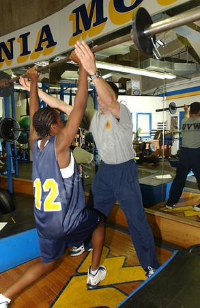 21788 Weight Lifting Women's Basketball Team