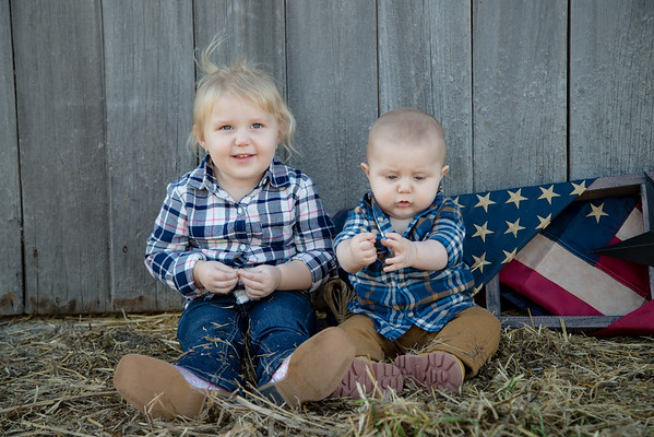 Aubrey 3   Leyton 6 months