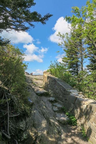 Devil's Courthouse Trail -- 5,710'
