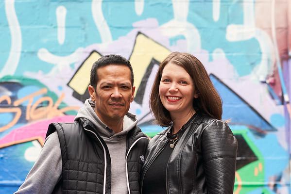 CCNM Graffitti Alley Portraits